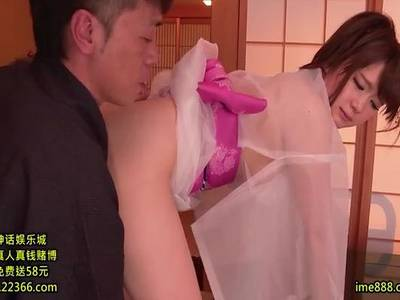 (西川ゆい)ちょいポチャ肉感恋人がスケスケ着物で生ナカ出しSEXでご奉仕