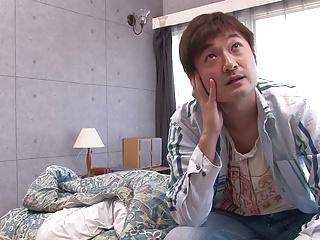 (モザ無)(乙井なずな)(高画質)カワイいイモウトが布団にもぐりこんできて目覚ましフェラチオ抜き