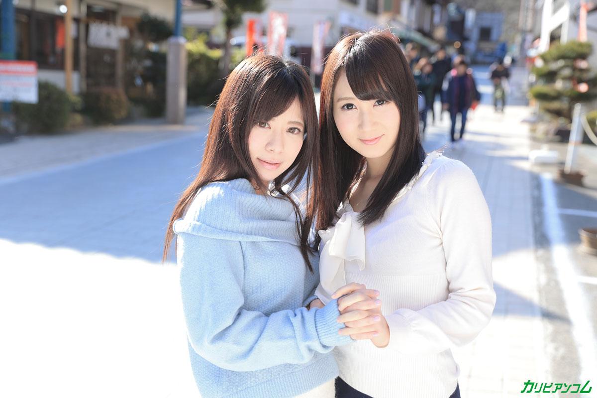 千野くるみ、葵千恵 かり美びあんず 〜美しすぎる2人のラブラブレズえっち〜