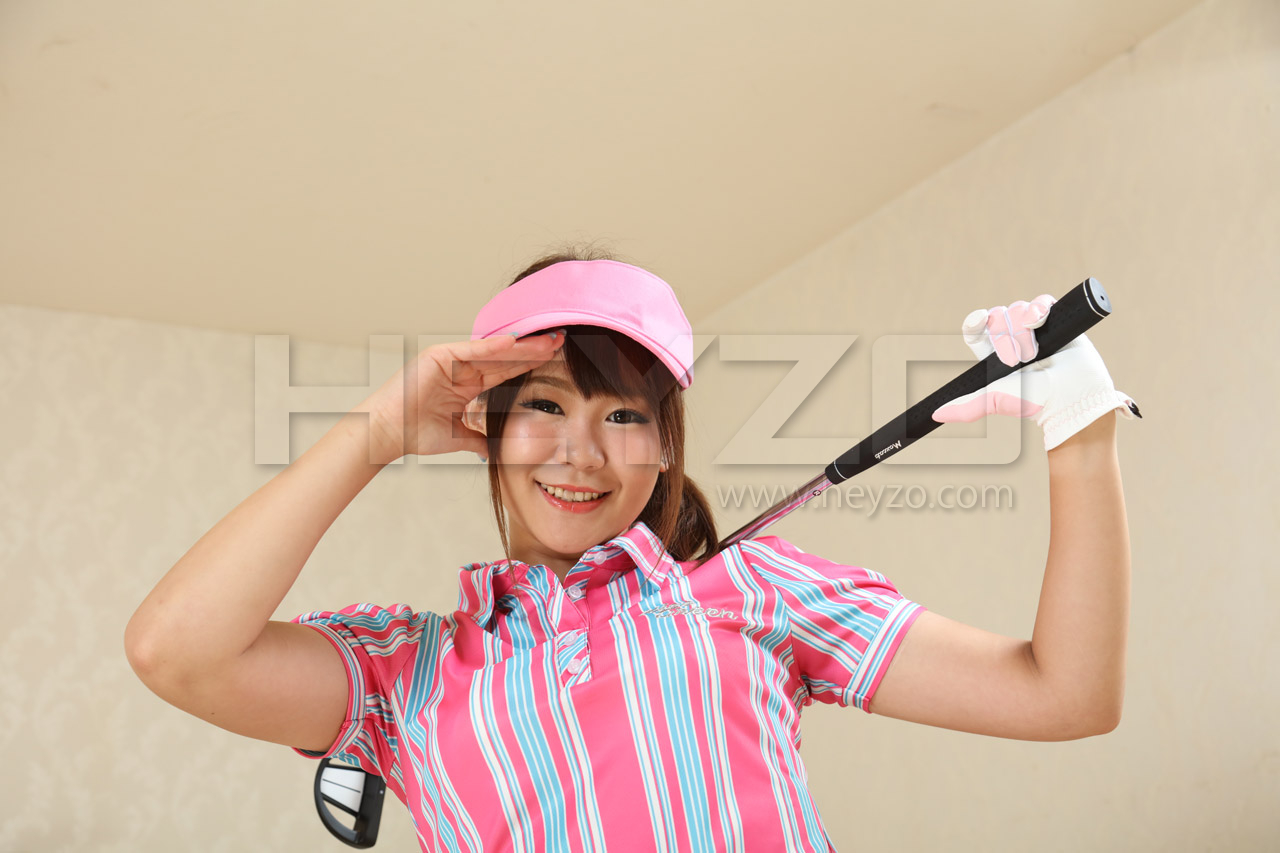 片岡杏奈 ゴルフウェアでハメハメしよう!~お嬢の秘部にホールインワン!~